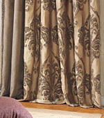 Significantly Curtains paper) Juniper (Gold)
