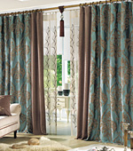 Significantly Curtains paper) Juniper (Mint)