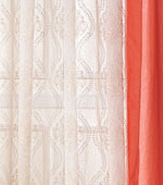 Wide-curtain paper) Orient (White)