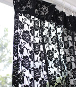 Dramatically - advanced ratsel rayon mesh) Rose Flower 4 kinds (Black)