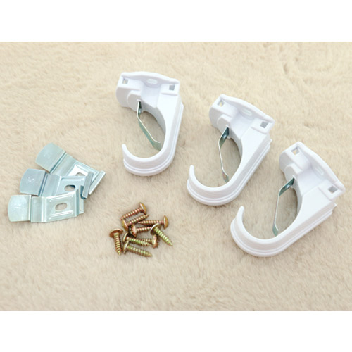 Bracket) 25mm curtain rods only three kinds (White)