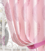 Wide-curtain paper) leaves (Pink)
