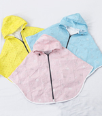 Finished - Tyvek) three kinds of infant poncho raincoat