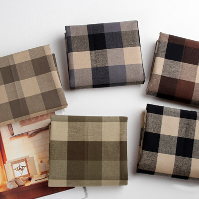 Wool dyed) fall gingham five kinds