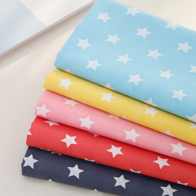 Cotton blend) Small Stars (5 species)