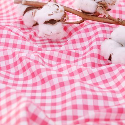 Cotton blend), a simple check (2 species)