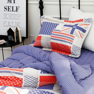 Charyeop single set of bedding) ♡ NY charyeop Quilt (Blue)