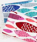 20 Number of plain weave) two kinds of fish