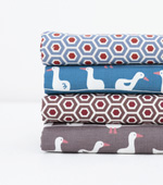 Fabric Package) Duck Friends (4 jongpaek) 1 / 4Hermp