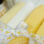 Cotton blend) Dandy Yellow (4 species)