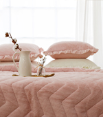 Charyeop microfiber bedding set) Romantic Wave (three)