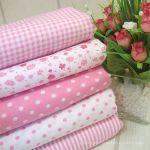 Cotton blend) Dandy Pink (5 species)