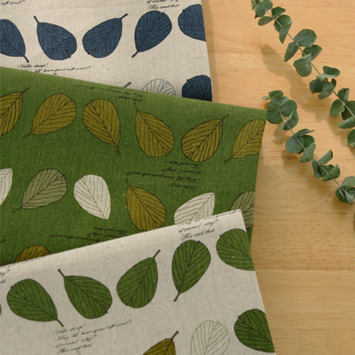 Linen can dramatically -11) Natural leaf (3 types)