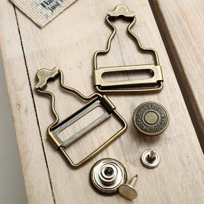 Suspender ring set (gold yen)