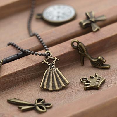 Charm) Romantic Mood (Antique Gold)