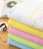 Widely 5 types of terry towel Hello Animals