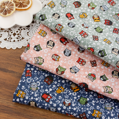 -PU Significantly sided polyurethane waterproof cloth) baby owl (3 types)