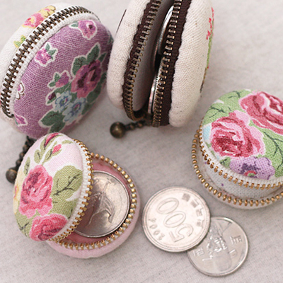 Macaron coin purse frame 4 pairs (50mm)
