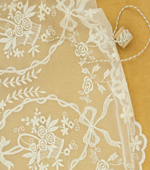 Fine mesh embroidery) like Wedding (2 species)