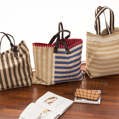 Significantly - jute) Natural Stripe four kinds