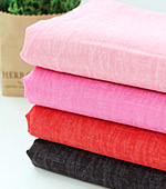 Significantly - the best wash linen) color Ming series (red pink)