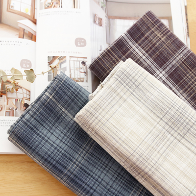 Significantly -Linen) Dyed Check (3 types)