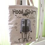 Warrior cut brushed linen paper) Hood Shirt 5588]