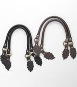 Bag strap) Leather handle 2 species [64]