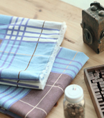 Large) Linen roll check (2 kinds)