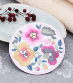 2ea) for circular embroidery hanbok) patch 2 species [20]