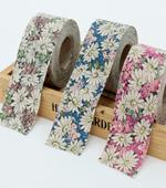 4cm bias) wildflowers (three)