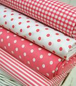 Cotton blend) Dandy Pink Red (4 species)