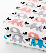 30 can be plain weave) two kinds of elephants