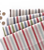 Linen dyed) yarn-dyed stripes four kinds country