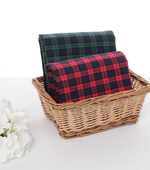 Linen dyed) Tartan two kinds