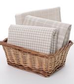 Dyed linen) yeonbeyiji check three kinds