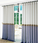 Wide-curtain paper) Aqua