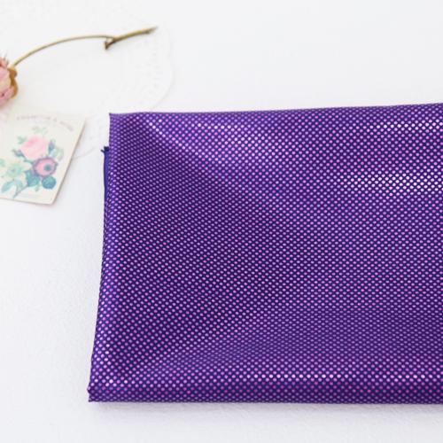 Holographic fabric) mini dots [Purple]