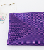 Holographic fabric) mini dots [Purple]