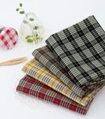 Fabric package) Azumino check (4 jongpaek) 1 / 6Hermp