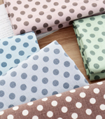 Significant number of washes linen -20) Vintage dots five kinds of [7002 series]