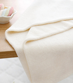 40 may Bamboo terry towels) whiteivory & Natural