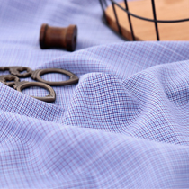 Significantly - wool blend linen) Blue Check