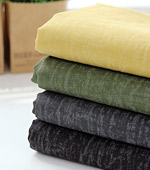 Significantly - the best wash linen) color Ming series (green-yellow)
