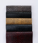 Imported artificial leather) python leather (5 species)