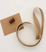 Jute string) Natural Beige jute straps