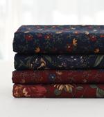 Fabric package) Flower Quilt C (4 jongpaek) 1 / 4Hermp