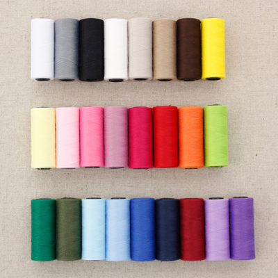 Small sewing thread color 25
