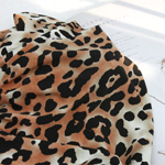 Significantly-spun jersey) Romantic Leopard (Brown) [44]