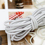 3Hermp) elastic string 8color (White)